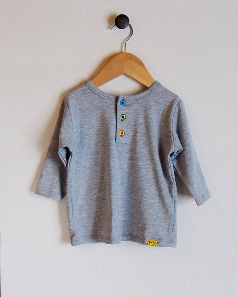 Henley in Grey