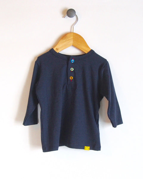 Henley in Navy