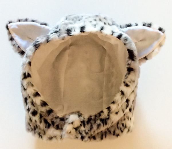 Faux fur Cat Hood Costume Accessory