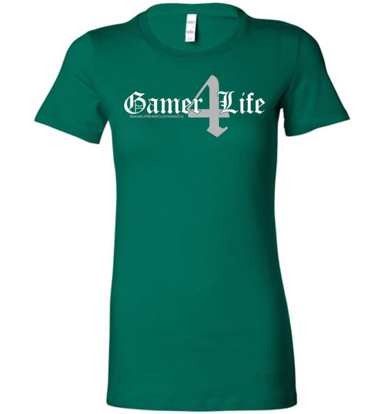 Gamer4Life - Ladies Fitted Tee