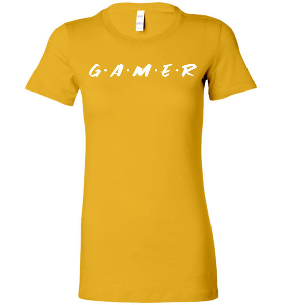 The Gamer - Ladies Fitted Tee
