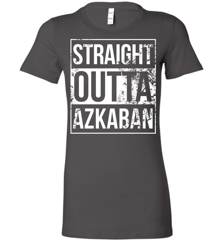Straight Outta Azkaban - Ladies Fitted Tee