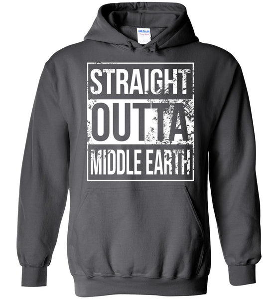 Straight Outta Middle Earth - Hoodie