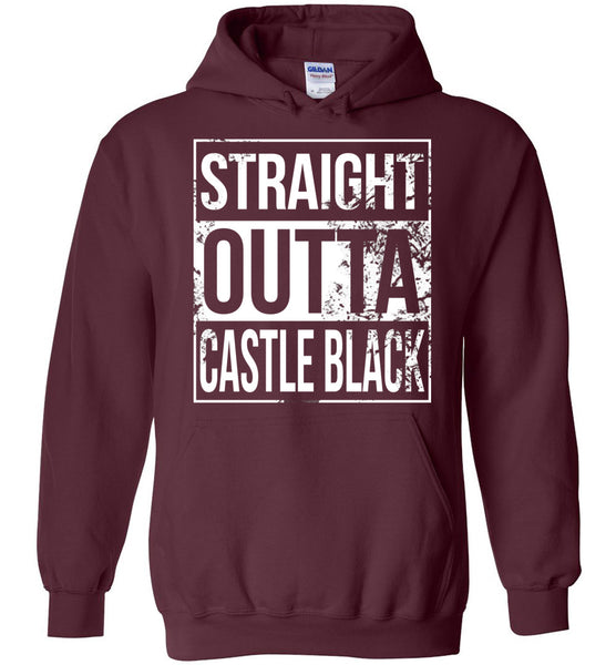 Straight Outta Castle Black - Hoodie