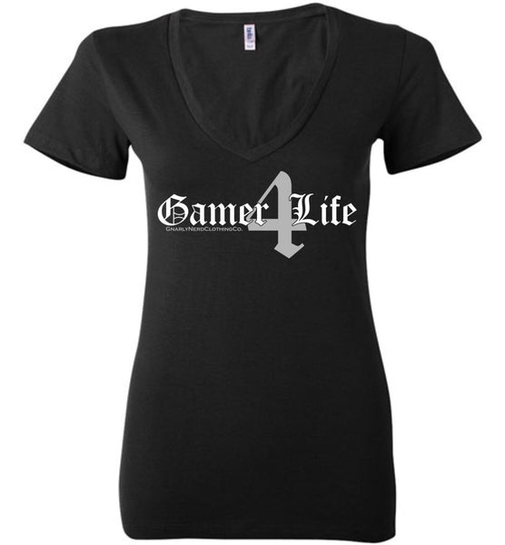 Gamer4Life - Low-Cut Ladies Tee