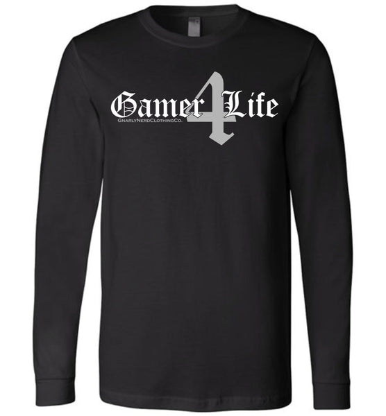 Gamer4Life - Long Sleeve Tee