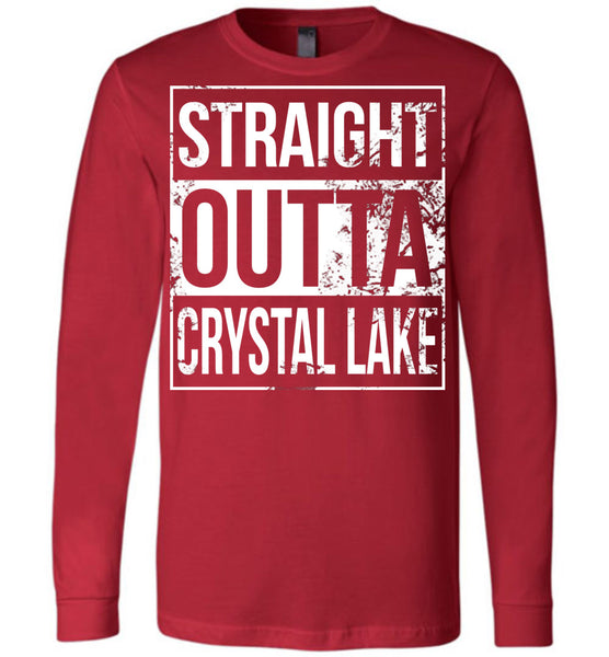 Straight Outta Crystal Lake - Long Sleeve Tee