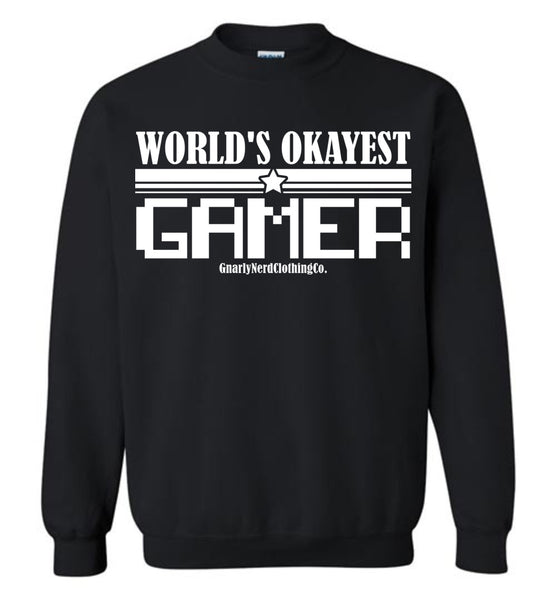 World's Okayest Gamer v.2 - Sweatshirt