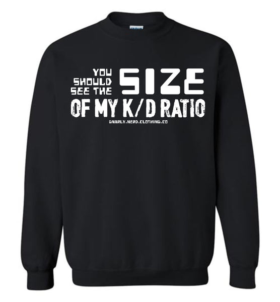 K/D Ratio Size - Sweatshirt