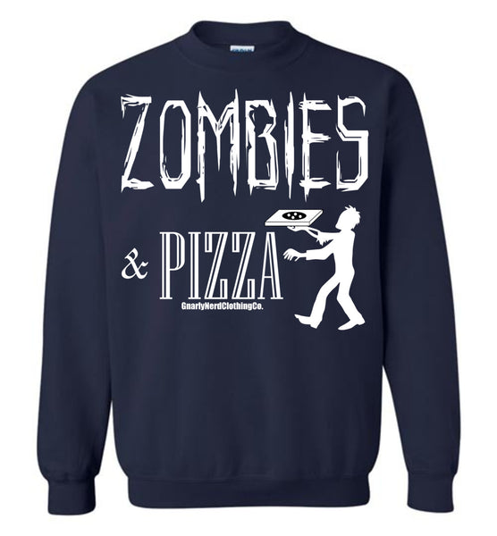 Zombies & Pizza - Sweatshirt