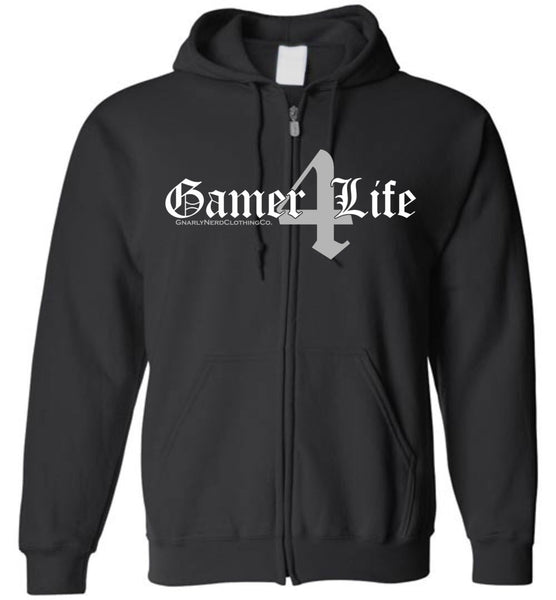 Gamer4Life - Zip-Up Hoodie