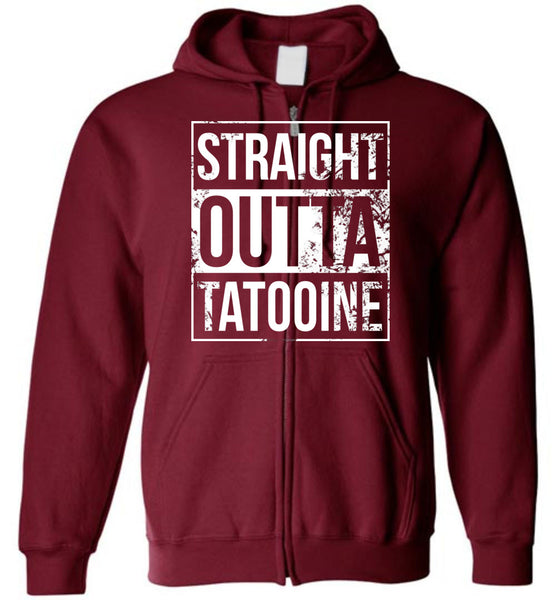 Straight Outta Tatooine - Zip-Up Hoodie