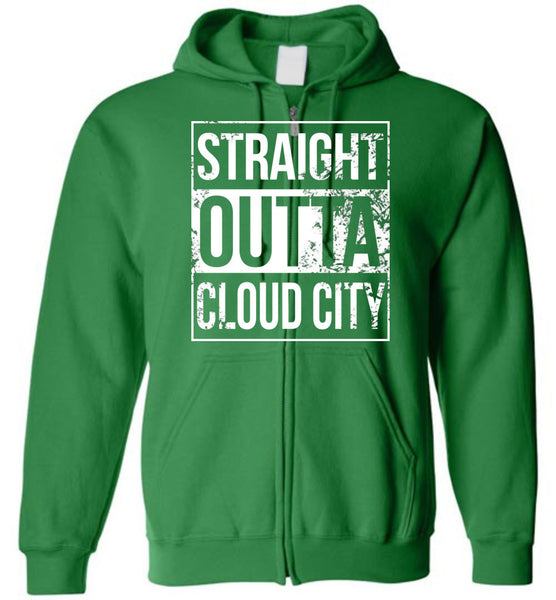 Straight Outta Cloud City - Zip-Up Hoodie