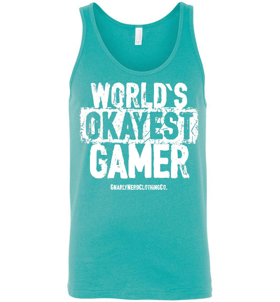World's Okayest Gamer - Unisex Tank