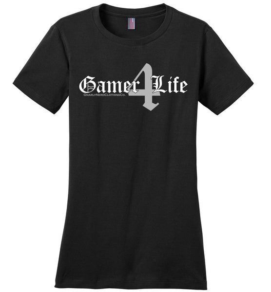 Gamer4Life - Ladies Casual Tee