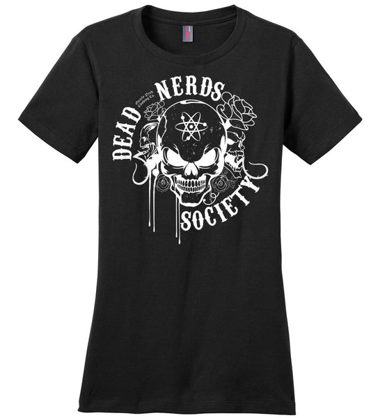 Dead Nerds Society - Ladies Casual Tee