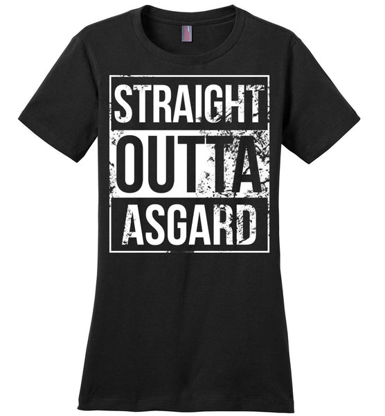 Straight Outta Asgard - Ladies Casual Tee
