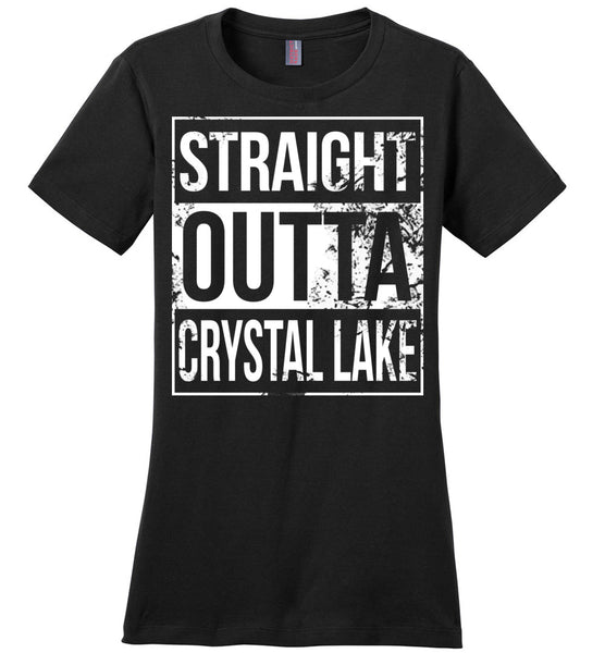 Straight Outta Crystal Lake - Ladies Casual Tee