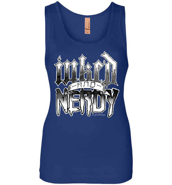 Inked and Nerdy 2.0 - Ladies Tank