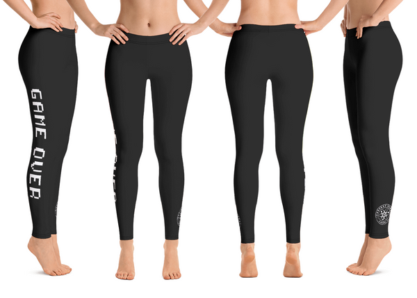 Game Over Leggings (8 Color Options)
