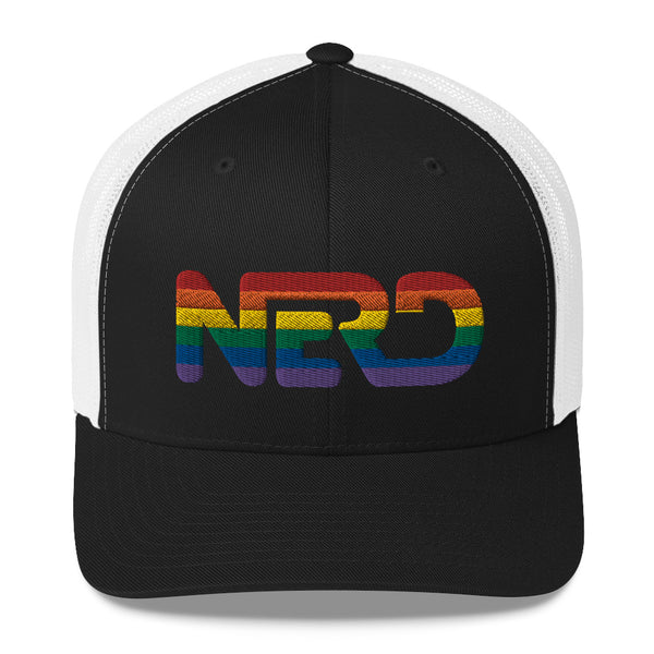 Nerd Pride - Retro Trucker Hat (10 Color Options)