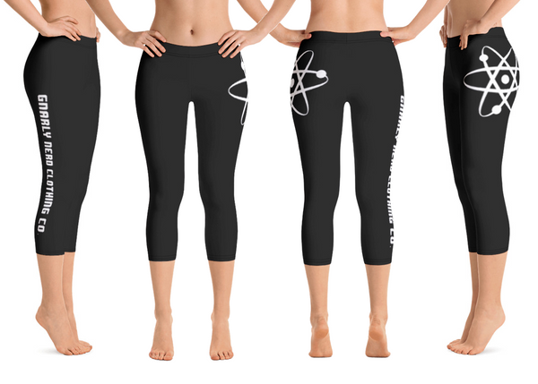 Branded Black Capri Leggings