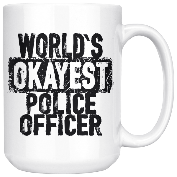 World's Okayest Police Officer