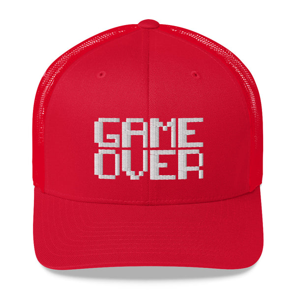 Game Over - Retro Trucker Hat (10 Color Options)