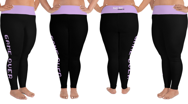 Game Over Plus Size Leggings