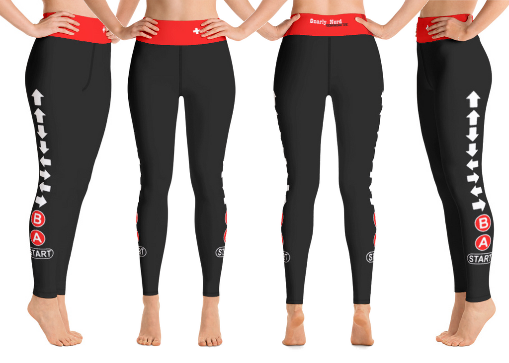 Konami Code Yoga Pants