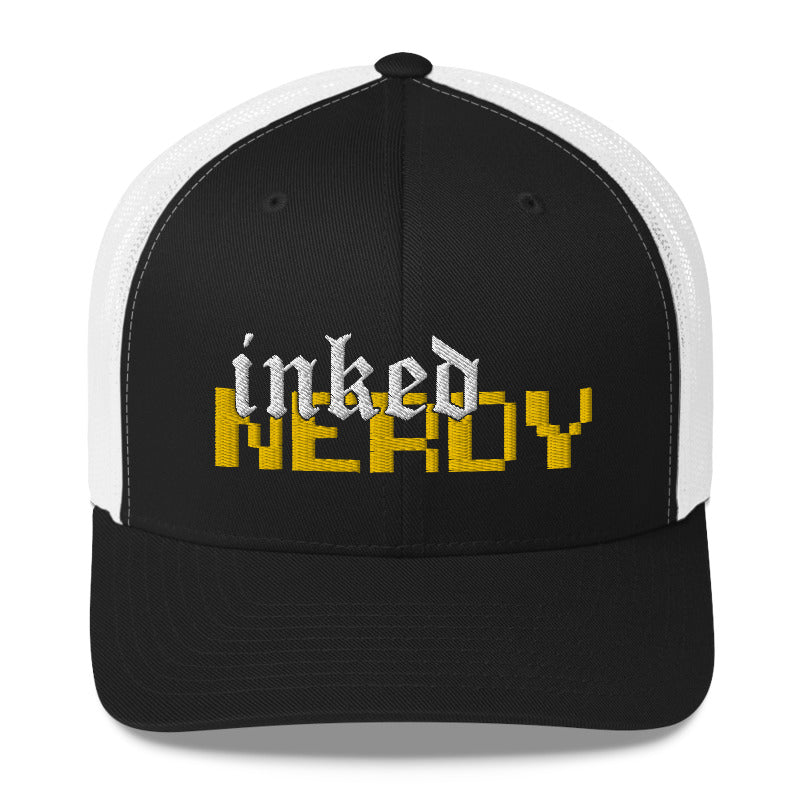 Inked & Nerdy 2 - Retro Trucker Hat (10 Color Options)