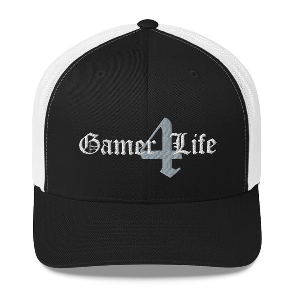 Gamer 4 Life - Retro Trucker Hat (10 Color Options)