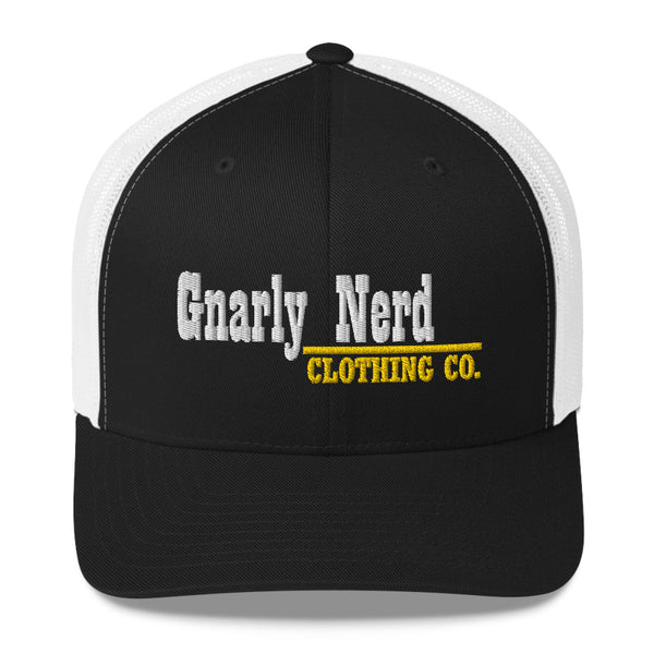 Gnarly Nerd Branded - Retro Trucker Hat (10 Color Options)