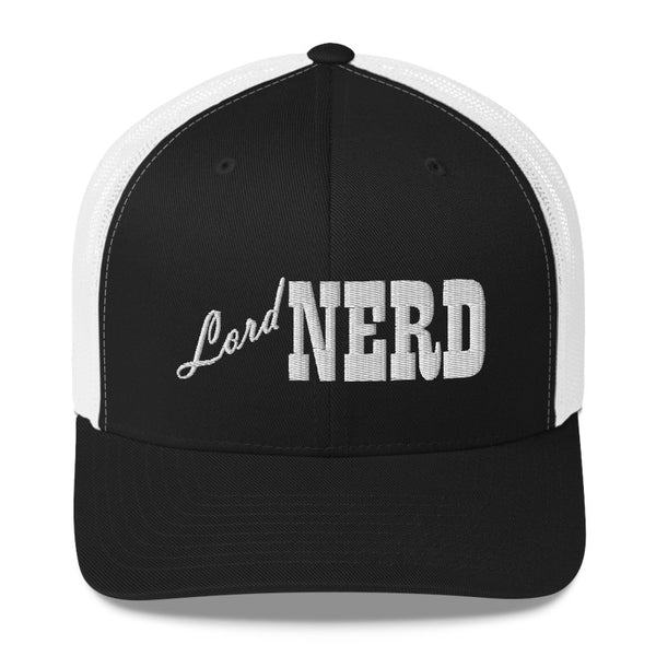 Lord Nerd - Retro Trucker Hat (10 Color Options)