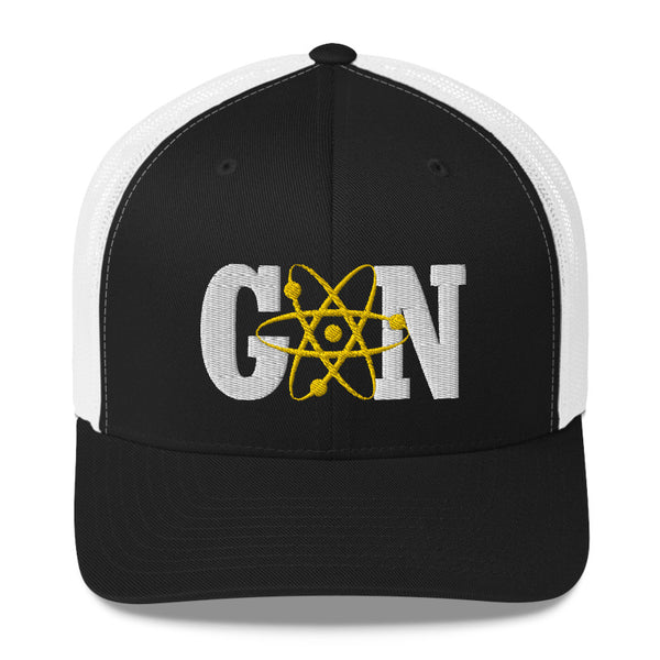 Gnarly Nerd Atomic - Retro Trucker Hat (10 Color Options)
