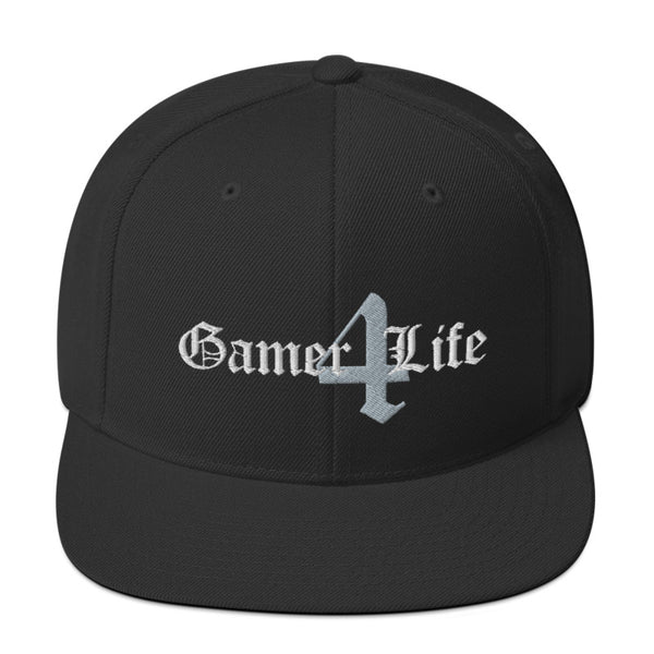Gamer 4 Life - SnapBack Hat (20 color options)