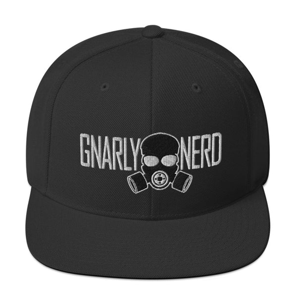 Branded Gas Mask - SnapBack Hat (20 color options)