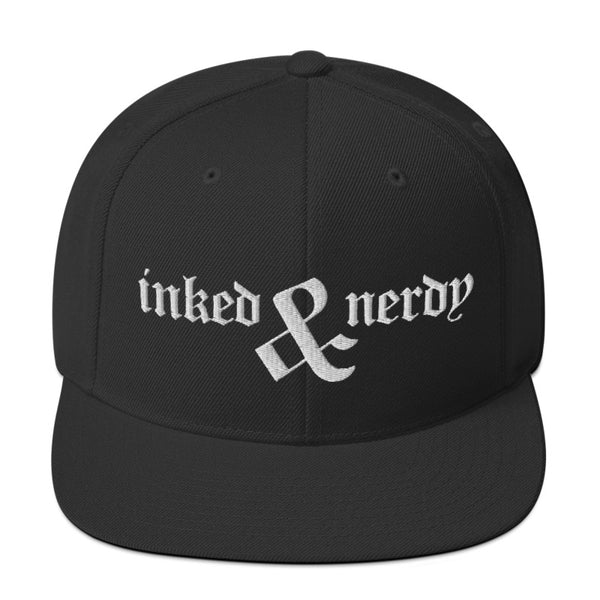 Inked & Nerdy - SnapBack Hat (20 color options)