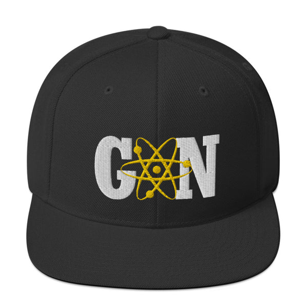 Gnarly Nerd Atomic - SnapBack Hat (20 color options)