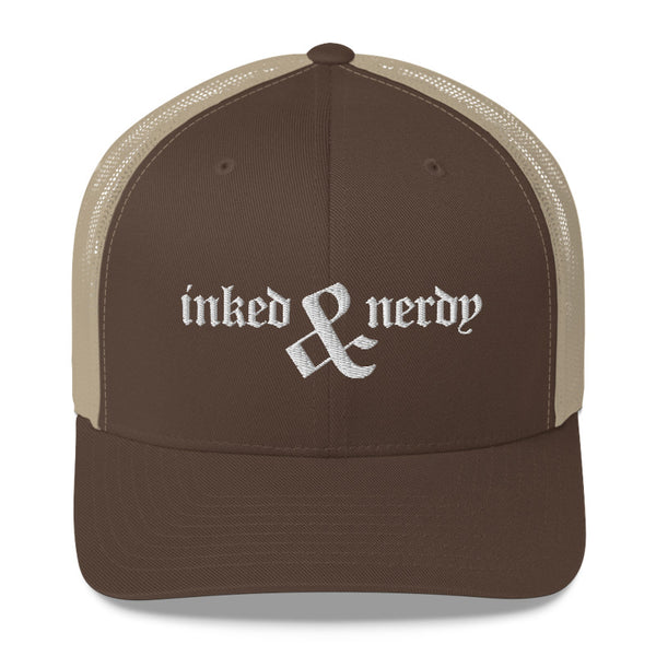 Inked & Nerdy - Retro Trucker Hat (10 Color Options)