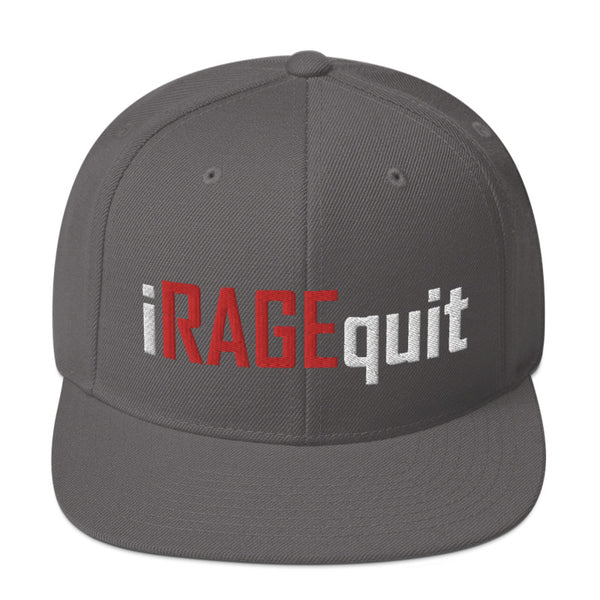 iRAGEquit - SnapBack Hat (20 color options)