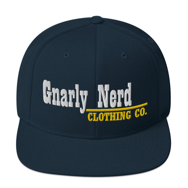 Gnarly Nerd Branded - SnapBack Hat (20 color options)