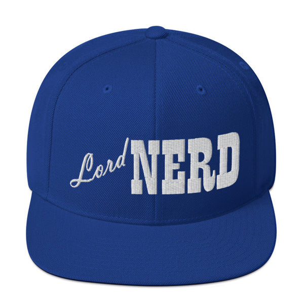 Lord Nerd - SnapBack Hat (20 color options)