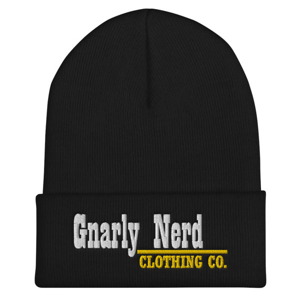 Gnarly Nerd Branded - Beanie (6 color options)