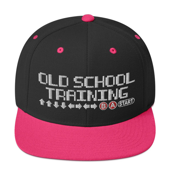 Old School Training - SnapBack Hat (19 color options)