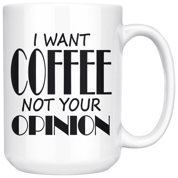 I Want Coffee!