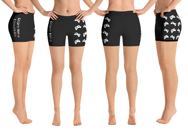 Controller Pattern - Ladies Shorts (8 Color Options)