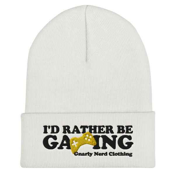 I'd Rather Be Gaming - Beanie (6 color options)