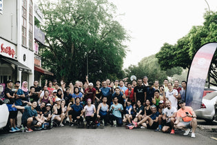 Completing a back-to-back weekend with the PURPOSE Running launch in Malaysia