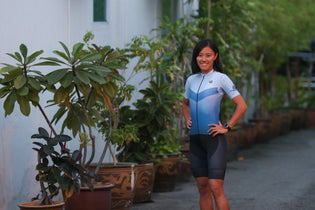 Former national half-marathon recordholder Mok Ying Rong becomes a duathlete